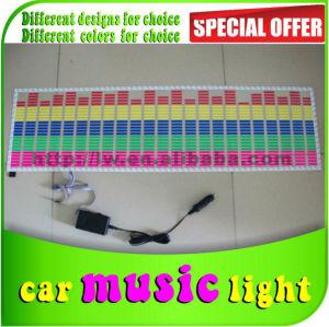 2013 50% venda com desconto dc 12v carro diodo emissor de luz de música