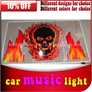 2013 50% desconto off venda quente dc 12v auto carro musical ativado led luzes de discoteca