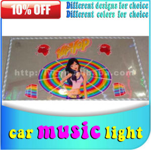 2013 50% discount off hot sale DC 12v auto sound control music interior light