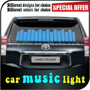 hot ! car music rhythm lamp led sound activated equalize