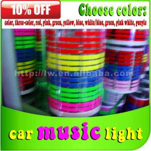 2013 new designed car music rhythm light