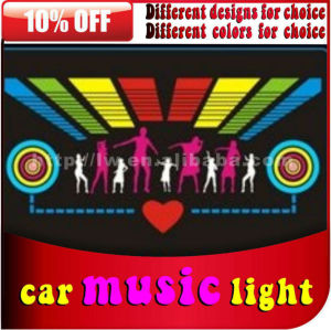2013 projetado novo controle de som e luz de música