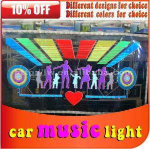 o mais novo 2013 12v carro música ritmo da lâmpada
