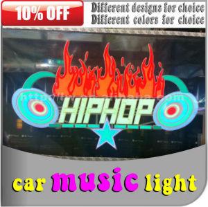2013 novos auto carro musical ativado led luzes de discoteca