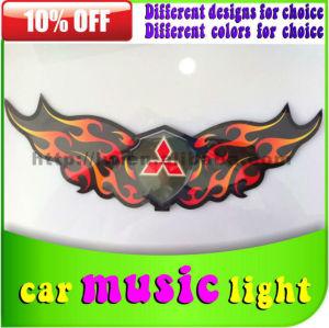 音楽のリズム201312vdcの車のランプ