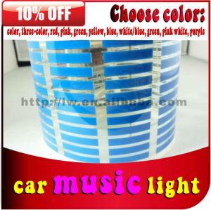 2013 venda quente led auto equalizador el adesivos de carro