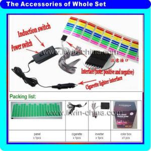 最新2013高品質ledイコライザー付きステッカー