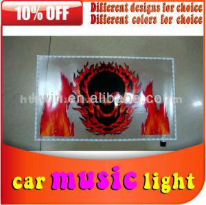 2013 hot sell 12v car music rhythm lamp