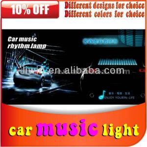 hotsale 2013 música sensor barra de luz