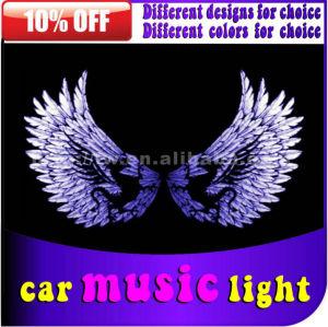 hot sell 12v car rim lights led sound activated equalize