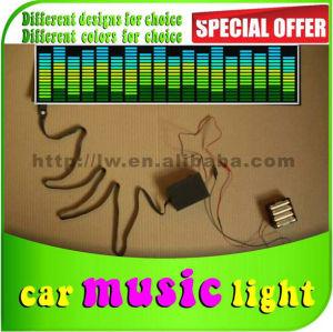 music control light