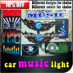 12V super bright auto sound control music interior light