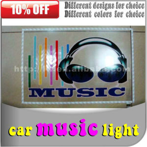 audio do carro luzes