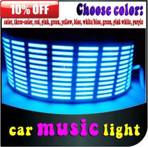 hot sell 12v led star cloth/ led light music activated for car