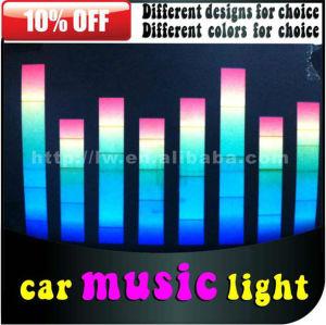 carro led música ritmo 12v lâmpada para todos os carros