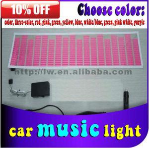 Car Music Rhythm Lamp / sound control music light/ Led equalizer panel