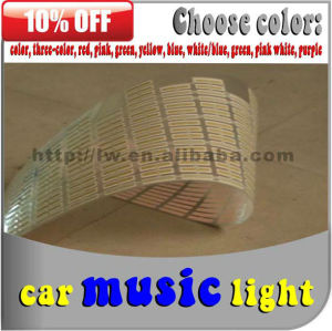 3d led car logo stickers light factory in China