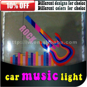 Car Music Rhythm light LW led equalizer sticker for all cars
