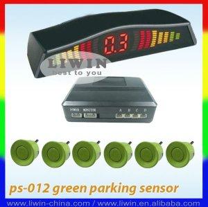 carro led sensor de estacionamento sistema
