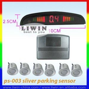 Carro sensor de estacionamento