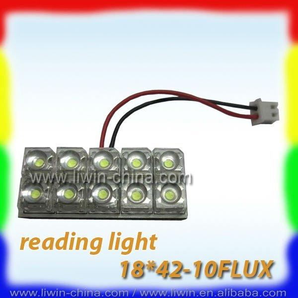 2012 carro de alta potência diodo emissor de luz de leitura com 10 leds