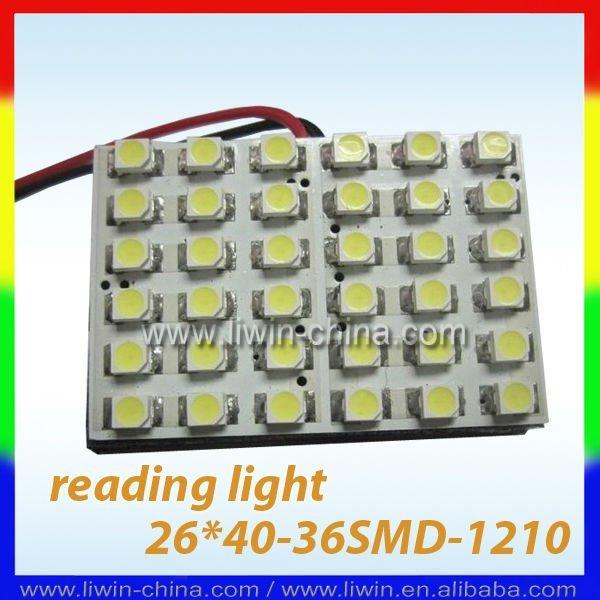 16 smd carro levou luz de leitura