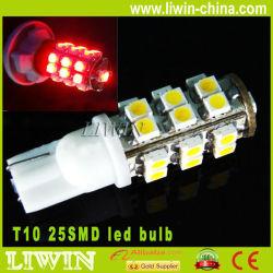 2013 venda quente led lâmpada 12v t10 25 smd chip cree luz de nevoeiro