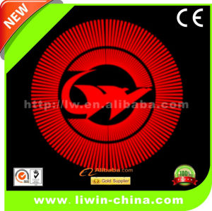 50% off hot selling led door courtesy light with car logo with names
