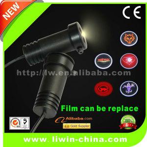 Cree 5W 6Gen led car door logo laser projector light