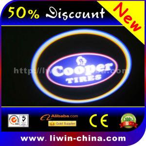 50% discount hot selling 12v 5w car sticker logo