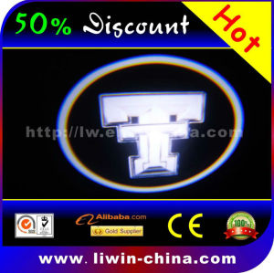 50% discount hot selling 12v 5w all car tire logos