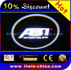 50% discount hot selling 12v 5w crystal car logo