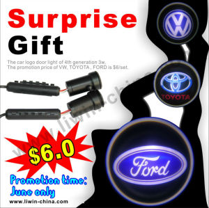 2013 hotest 50% discount led car logo with names