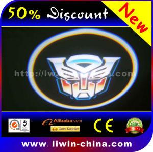 Best price!!! 12V 5W full color cree car door led logo laser light