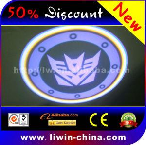 promotionled led laser car logo light 4th generation 3w