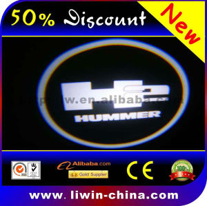 50% off hot selling cree chip 12v 3w 5w welcome door light 8th generation