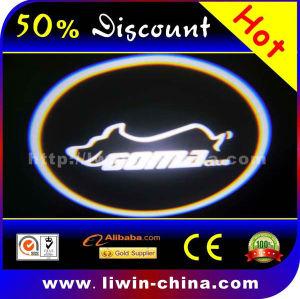 50% offled car logo door light 3 watt 8th generation