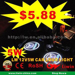 12v 5w LIWIN 3d led car logo stickers light