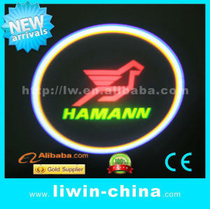 12V High quality car laser light led courtesy light/Ghost shadow lights