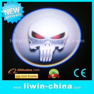 AUTO LIGHTING PARTS-newest design ghost crystal LW logo light for all cars