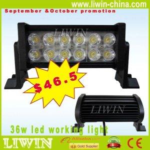 2012 venda quente de alta potência 36w diodo emissor de luz fora de estrada bar