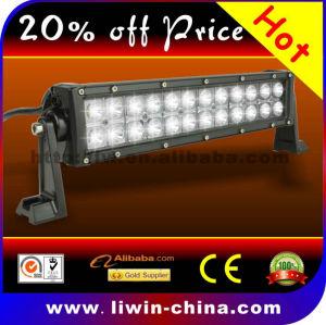 Venda quente 72w 10-30v off road led barra de luz