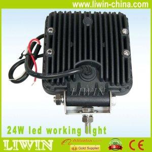 24w diodo emissor de luz de trabalho, auto lâmpada de trabalho, conduziu a lâmpada