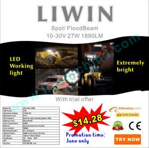 2013hotest5割引10v〜30v27wLEDトラクター作業灯