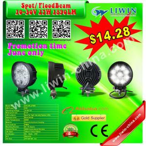 2013 hotest 50% discount 10v to 30v 27w rounded work light