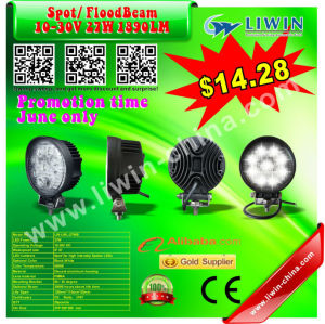 2013 hotest 50% discount 10v to 30v 27w rechargeable led work light