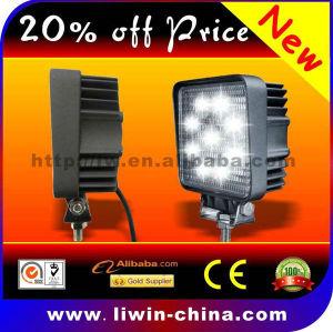 9-32v diodo emissor de luz de trabalho apenas 0.5% taxa defeituosa levou barra de luz 27w