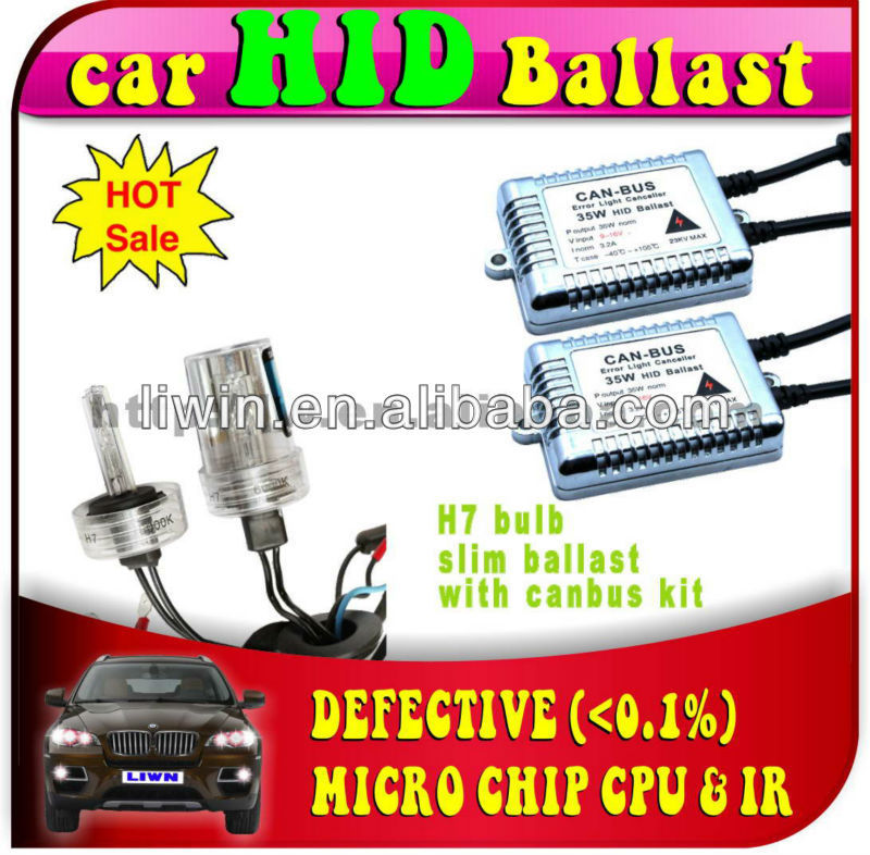 2013 hottest reverse hid kit canbus 35w 12v