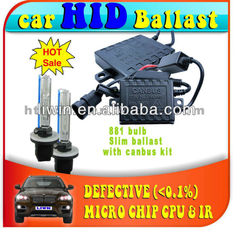 2013 hottest canbus xenon hid kit