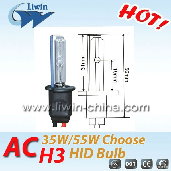 china manufacturer high power 24v 35w 3000k-30000k h3 hid head light